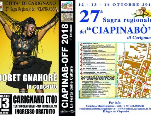 """Tra Me presenta """"Ciapinab-OFF – La Festa delle Culture""""!"""