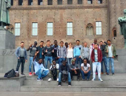 In gita scolastica all'Archivio di Stato di Torino!