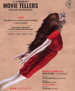 Torna 'Movie Tellers – Narrazioni Cinematografiche' di cui Tra Me è partner; vi aspettiamo martedì 16 maggio a Chieri!!