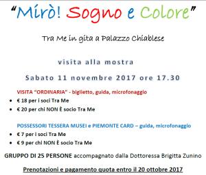 Tra Me in visita a Mirò!