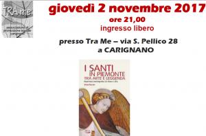 'I Santi in Piemonte tra arte e leggenda.' – Presentazione del libro in compagnia dell'autrice Anna Ferrari