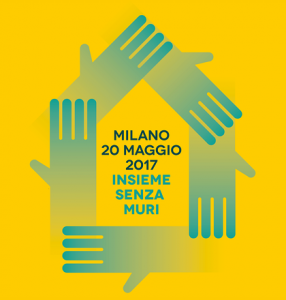 Tra Me partecipa all'iniziativa 'Senza Muri' a Milano il 20 maggio