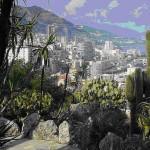panorama di Montecarlo