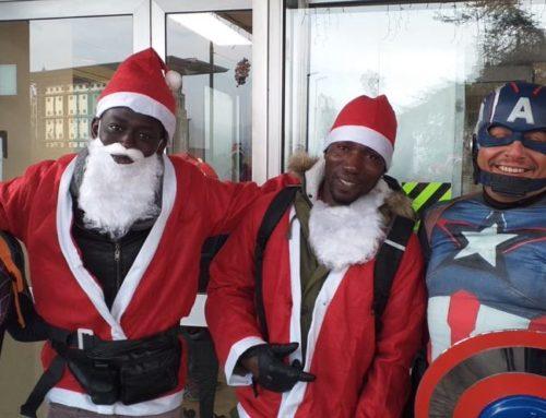 Tra Me al grande raduno dei Babbi Natale!