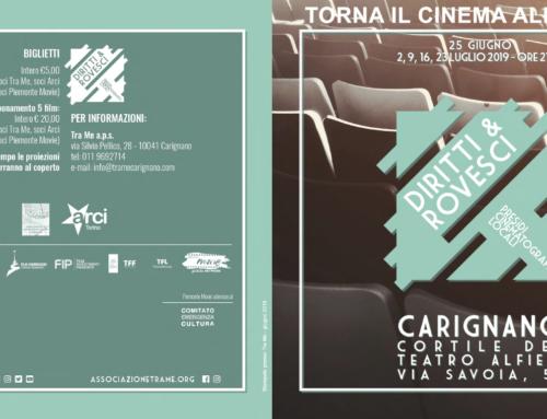 'DIRITTI & ROVESCI' – Torna il cinema estivo a Carignano!