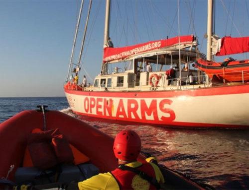 I migranti della Open Arms vogliono chiedere asilo in Europa
