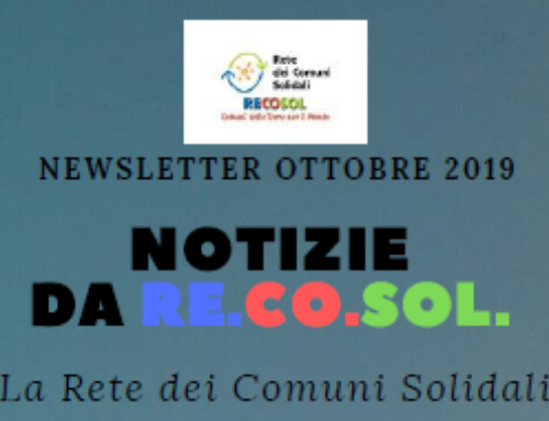La newsletter di RE.CO.SOL., partner di Tra Me.