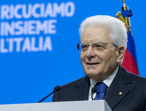 """""""Padova, Capitale europea del Volontariato per il 2020"""" – l'intervento del Presidente Mattarella"""