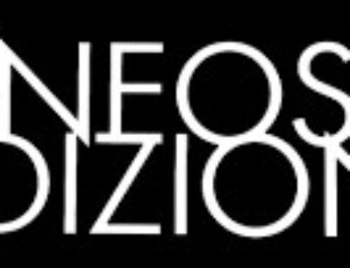 Gli amici di Neos Edizioni molto attivi per continuare a fare cultura in periodo dilockdown.