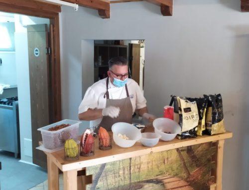Al Campus Estivo di Sintra si impara a conoscere e utilizzare il cioccolato!!