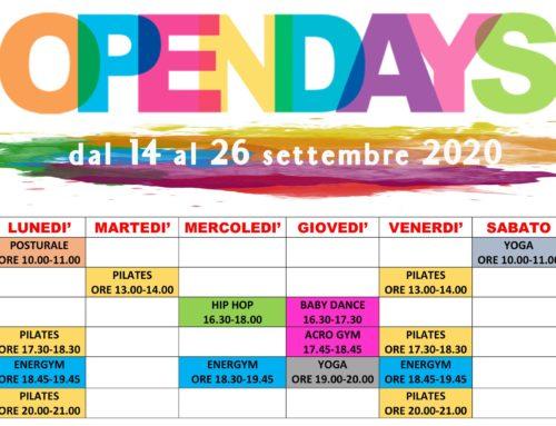 Open Days di Sintra! Tutte le nostre attività di settembre.