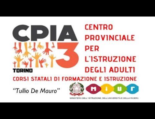 I corsi di lingua del CPIA 3 di Torino ripartono in sicurezza!