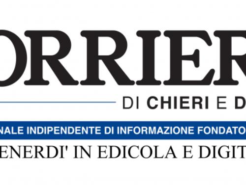 Sul 'Corriere di Chieri' la storia a lieto fine di Gift, ospite del nostro progetto di accoglienza