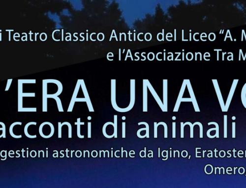 C'era una volta… racconti di animali e stelle – Tra Me in scena al Laboratorio Storico del Liceo Monti di Chieri