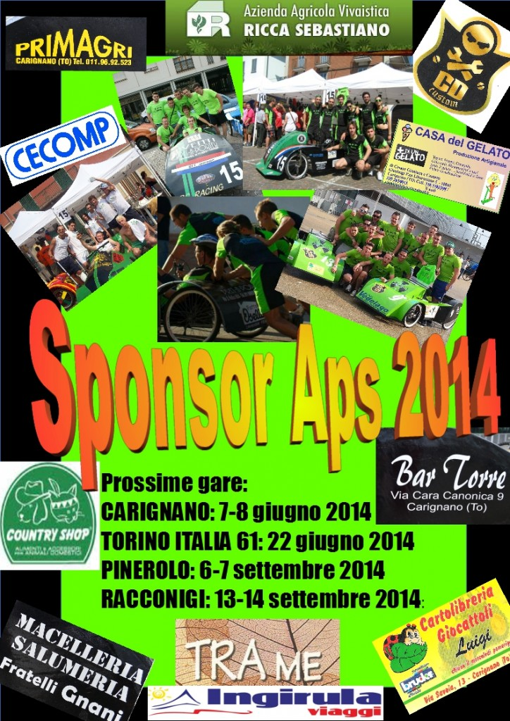 aps racing sponsor