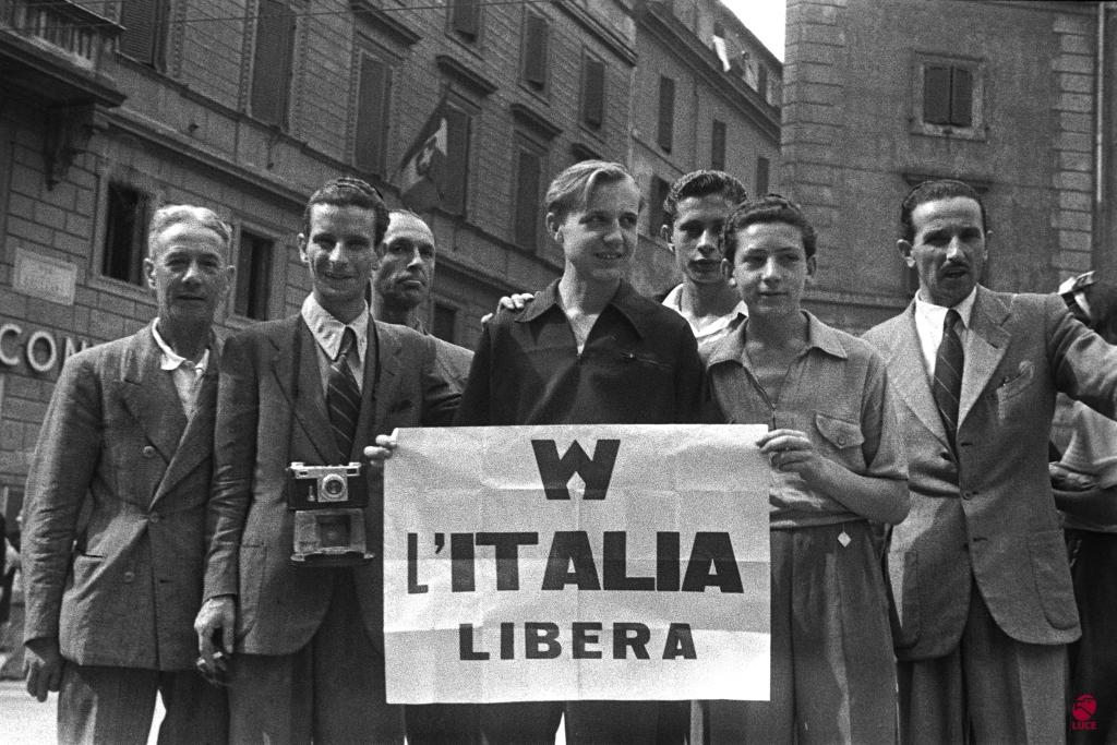 25 Aprile, Festa della Liberazione dal nazifascismo.